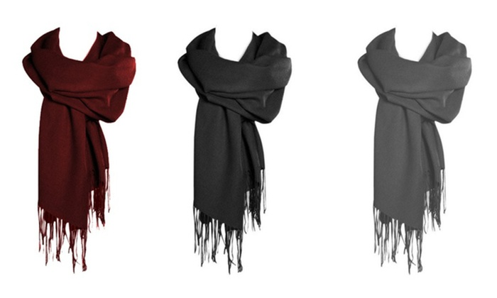 3-Pack: Luxurious Pashmina Scarves