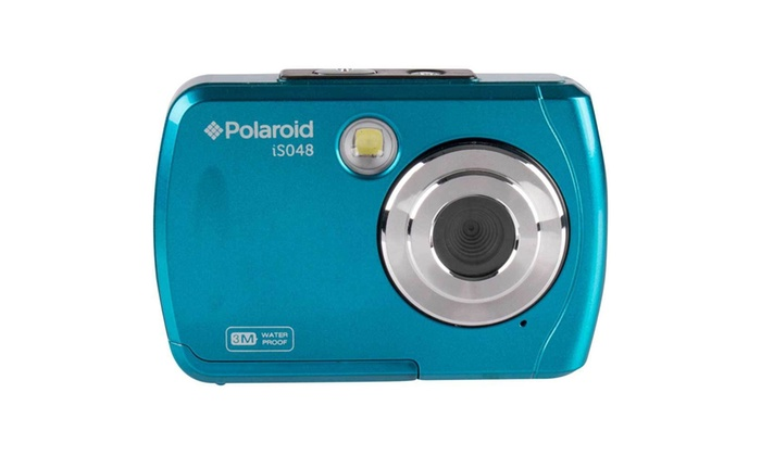 Polaroid Camera Urban Outfitters : Polaroid is mp waterproof digital camera teal groupon