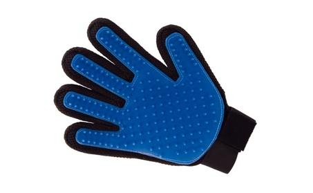Unique Quality iPets Dog Cat Five Finger De-Shedding Glove eaaa2bb8-2eb5-4c51-b87a-347046ba1104