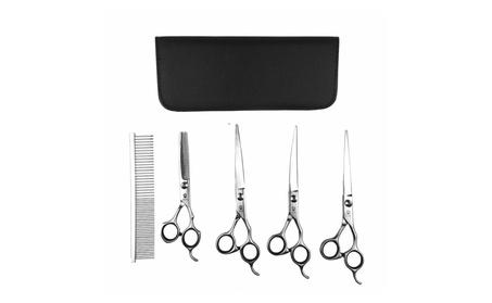 Petzilla Grooming Curved Stainless Steel Scissor Set (Pack of 5) f93d68c9-1945-4ebc-b61c-2cc0a5d84cbc
