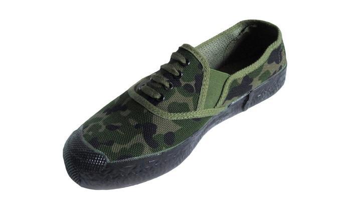 shefetch s camo printed canvas shoes groupon