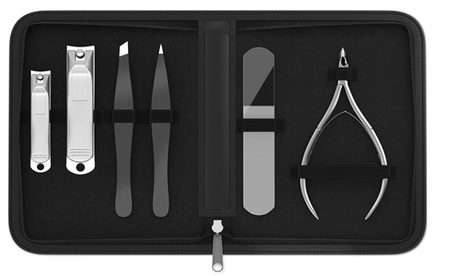Manicure & Pedicure Complete Personal Care 6-Piece Grooming Kit