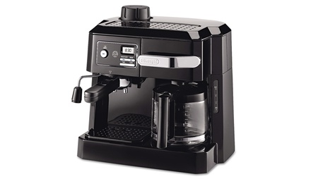 delonghi bco320t combination coffee espresso machine. Black Bedroom Furniture Sets. Home Design Ideas