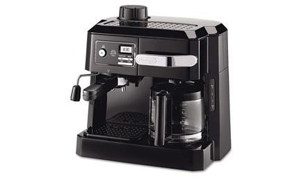 delonghi bco320t combination coffee espresso machine. Black Bedroom Furniture Sets. Home Design Ideas