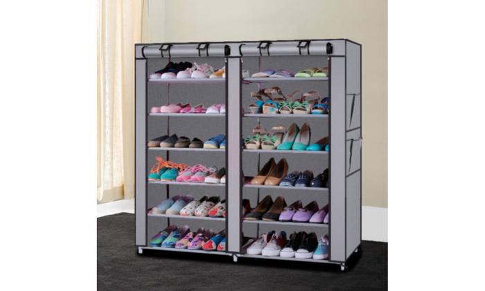 Up To 31 Off On Shoe Closet Rack Shelf Organi Groupon