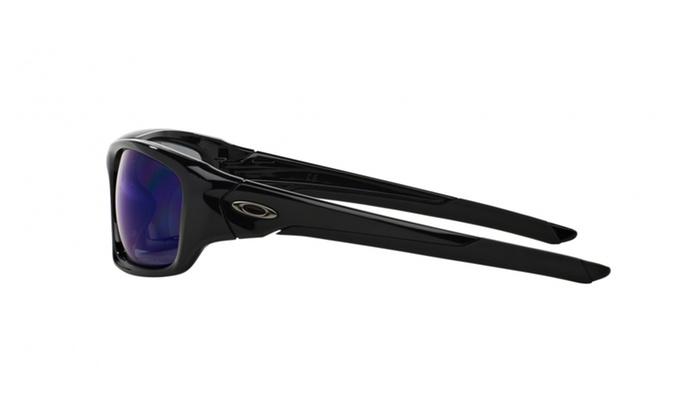 a378ec759f Oakley Men s Valve OO9236 Polarized Rectangular Sunglasses