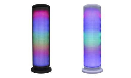Zummy LED Bluetooth Wireless Tower speaker
