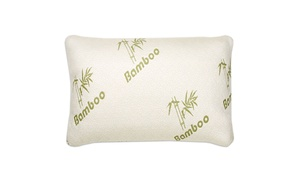 Bamboo Memory Foam Pillows (1- or 2-Pack)