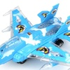 Aerial Conqueror Jet Bump and Go Toy Plane (Colors May Vary)