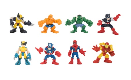 8Pcs Q Mini The Avengers sets Iron Man Spider Man Action Figure Toys 0c34049f-c263-41a7-91c3-293e3e5b9646