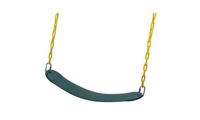 2X Heavy Duty Swing Seat Set Accessories Replacement with Chain Kids Outdoor