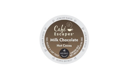 Café Escapes Milk Chocolate Hot Cocoa K-Cup for Keurig Brewers b2620738-04bc-4161-8520-ffed494a9c46