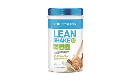 GNC Total Lean Shake Meal Replacement, Snickerdoodle, 1.83 Pound