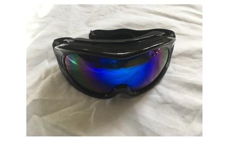 Ski/Snowboard Goggles (SKG21-B)-Unisex Med Blue or (SKG21-G) Gold ae23c7e1-9d24-46eb-8571-258c4eae144b