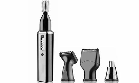 Nose Hair Trimmer Beard Trimmer for Men 4 in 1 Grooming Kit