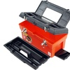 """Stalwart 16.5"""" Utility Tool Box - 7 Compartments & Tray"""