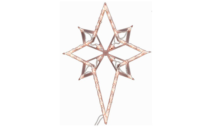 22 Quot Lighted Star Of Bethlehem Christmas Window Silhouette