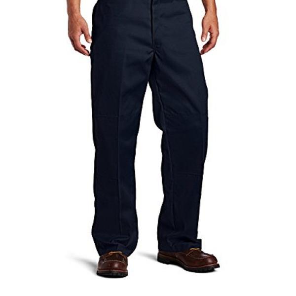 Dickies Men/'s Loose Fit Double Knee Work Pants 85283DN Dark Navy