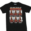Deadpool Mens T-Shirt - The Many Faces Of Deadpool Boxes