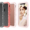 3-in-1 Diamond Glitter Hybrid Rugged Protective Case for iPhone X