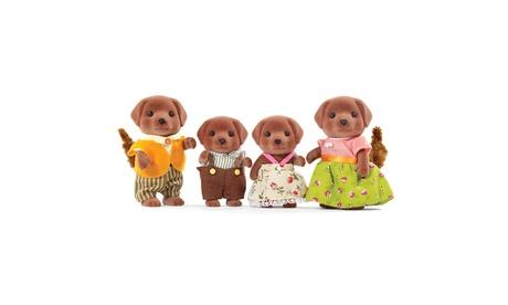 International Playthings - Calico Critters Chocolate Labrador Family 81ee645f-0e2b-493c-bdb8-1d21fb289795