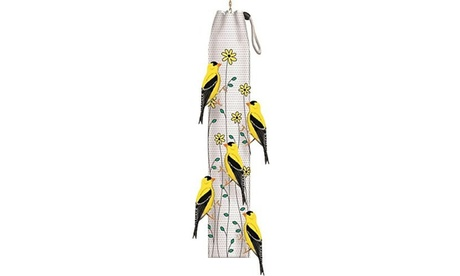 Homestead Thistle Sack - Yellow - Floral Bird Feeder (Goods Pet Supplies Bird Supplies) photo