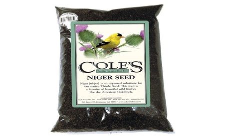 Coles Wild Bird Products Co COLESGCNI05 Niger Seed 5 lbs. (Goods Pet Supplies Bird Supplies) photo