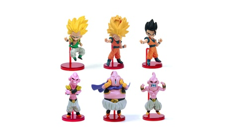 6pcs Dragon Ball Son Goku Anime Model Action Figure Dragonball Toy 39dd5355-cea9-4cd3-bf3a-b715413ab406