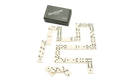 Pressman Toy Double Six Urea Tournament Dominoes 0f13edaf-a627-40b0-9d06-0dbb3251a202
