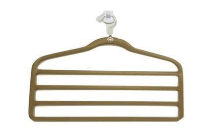 Shop Sky Premium New Hanger 4 Bar Suit hanger Pair ff856229-6285-452f-9ee9-471993337136
