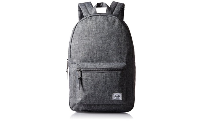 053f63ef4f Herschel Supply Co. Settlement Backpack - Raven Crosshatch | Groupon