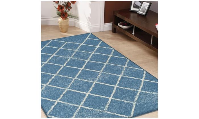 Superior Design Contemporary Lattice Area Rugs Groupon
