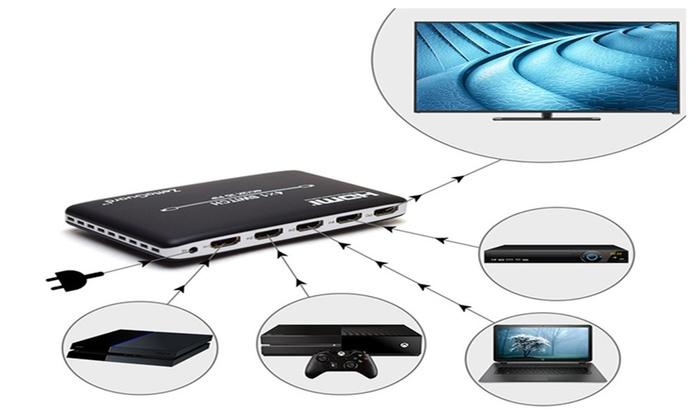 Zettaguard 4K x 2K HDMI Switch with PIP and IR Wireless