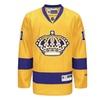 Los Angeles Kings Reebok Gold/Purple Premier Player Alternate Jersey
