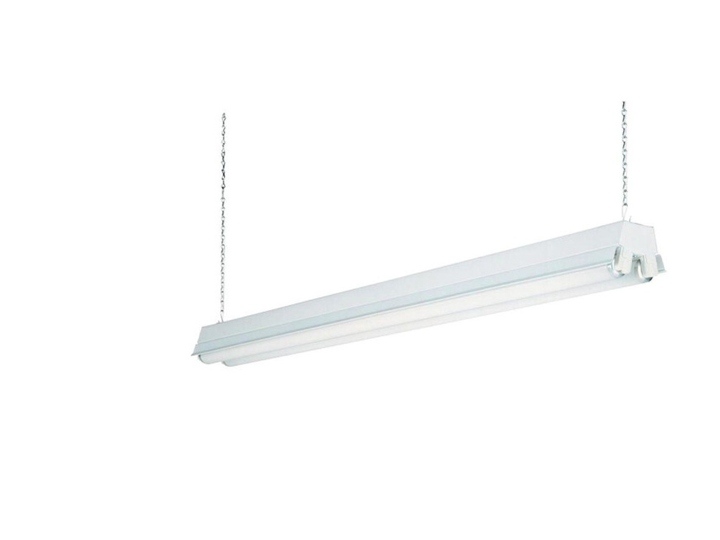 Lithonia lighting 6869234 146v5f fluorescent shop light fixtures