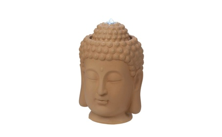 Ceramic Serene Buddha Head Water Feature Fountain Pump Included 0fe8fda0-a5be-446b-b7b5-3d42737e2937