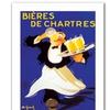 'Bieres de Chartres' Canvas Rolled Art