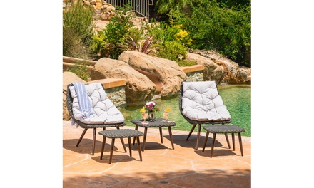 Quinto Outdoor Chat Set (5-Piece)