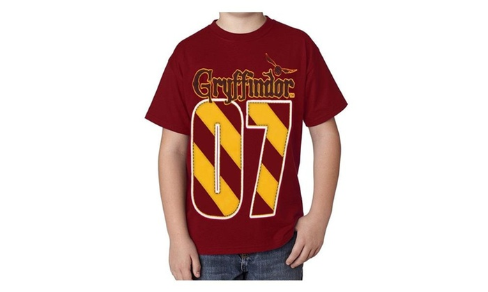 86cd80fe4 Harry Potter Youth T-shirt Gryffindor Quidditch MVP, Red | Groupon