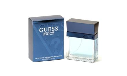 Guess Seductive Blue Men- Edt Spray 3.4 Oz Was: $65 Now: $18.17.