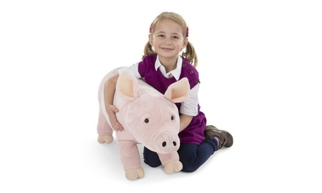 Melissa & Doug Oversized Plush Farm Animals d668ba17-76d1-4985-af2f-02b6b7f3bd3b