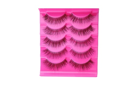 False Eyelashes (5 pair) d3ccf26c-59e5-4adb-a19d-005d1fb3dc03