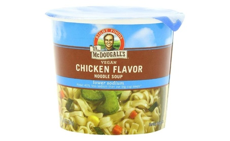Dr. Mcdougall's Right Foods Vegan Chicken Flavor Noodle Soup, Light So fd31e716-561d-48fb-a9d0-8a6c32e302f6