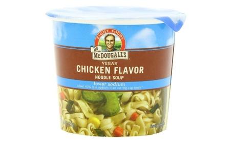 Dr. Mcdougall's Right Foods Vegan Chicken Flavor Noodle Soup, Light So fd31e716-561d-48fb-a9d0-8a6c32e302f6