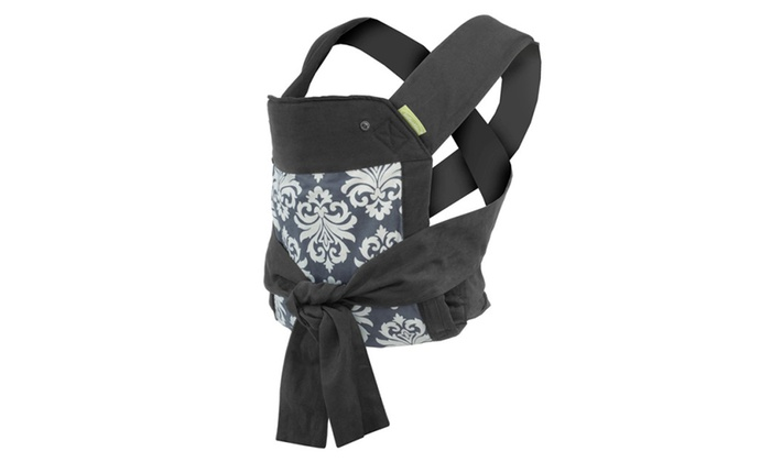 Infantino Sash Mei Tai Baby And Infant Carrier Black Gray Groupon
