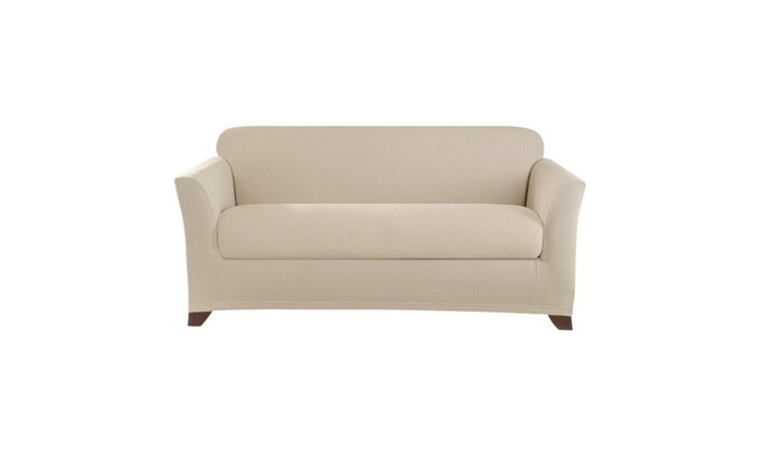 Home Fashion Designs Dawson Collection Basic Strapless Slipcover Groupon