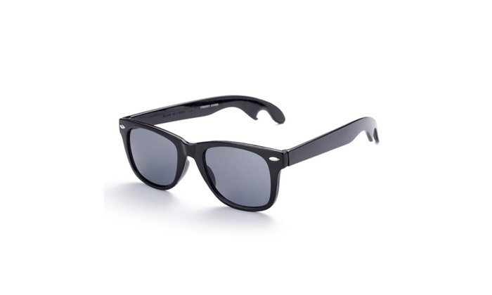 Holywood Sleek Wayfarer Bottle Opener Sunglasses