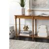 Safavieh Modern Coastal Bamboo Console Table