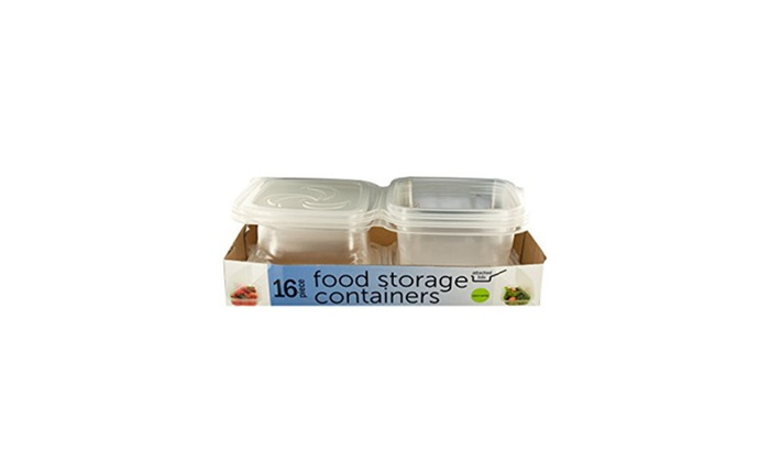 Incroyable Food Storage Containers With Attached Lids