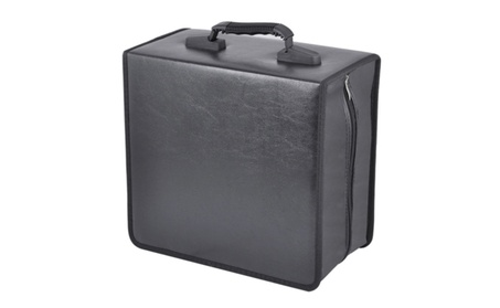 400 Disc CD DVD Bluray Storage Holder Solution Binder Book Carrying e2d21b00-f9b3-42ee-b717-8d9a15424214
